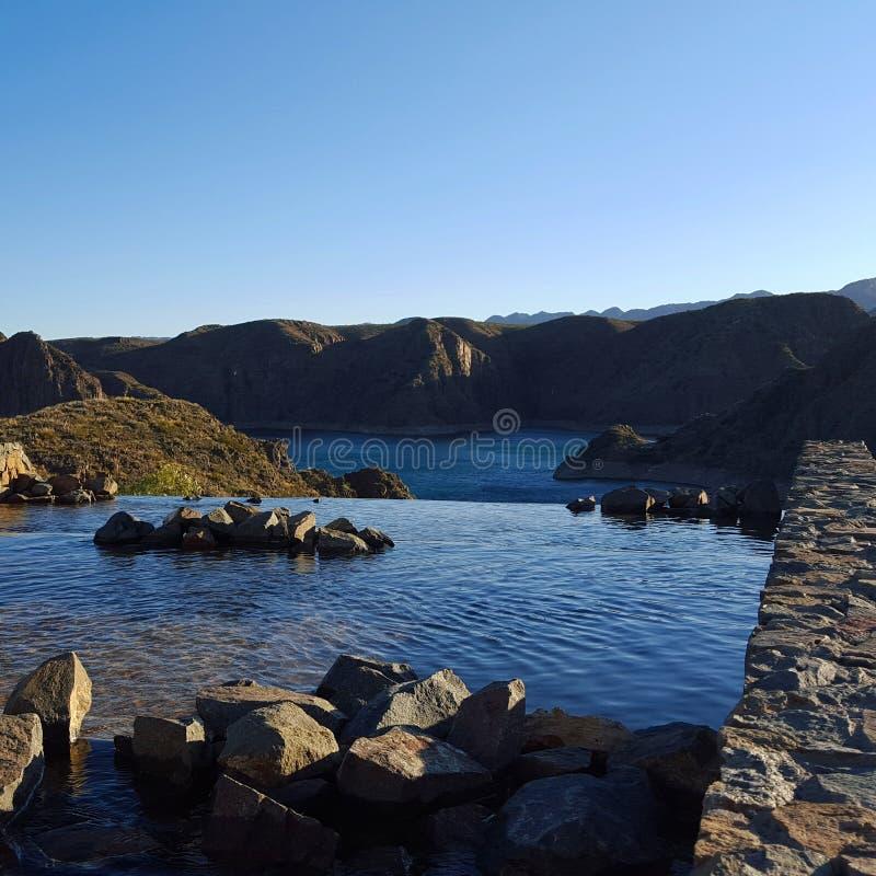 Naturaleza hermosa del Los Reyunos fotos de archivo libres de regalías