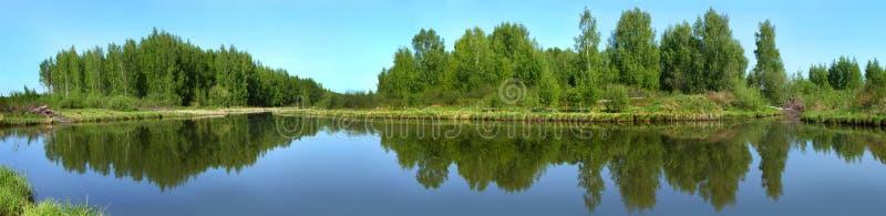 Naturaleza hermosa, visión panorámica Río Norochta foto de archivo