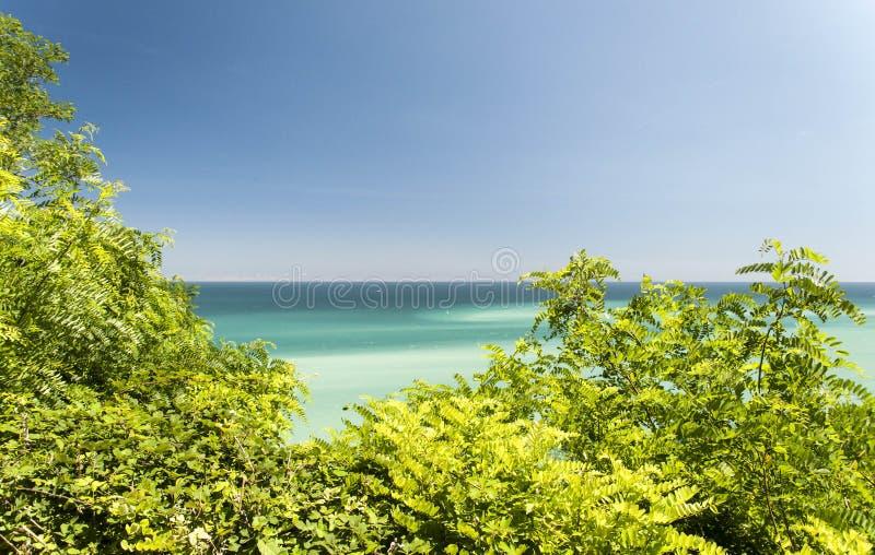 Download Naturaleza, Mar Y Un Cielo Azul Foto de archivo - Imagen de asoleado, verde: 100532330