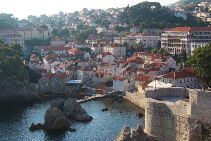 Naturaleza y paisajes de Croacia Viaje de Europa wanderlust fotografía de archivo libre de regalías