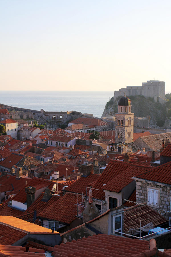 Naturaleza y paisajes de Croacia Viaje de Europa wanderlust foto de archivo