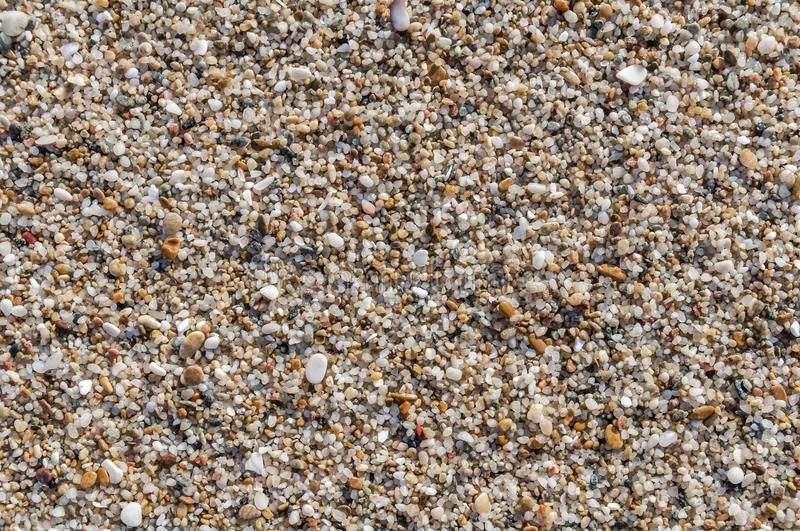 Naturally rounded gravel at sea shore, nature beach background t royalty free stock photos