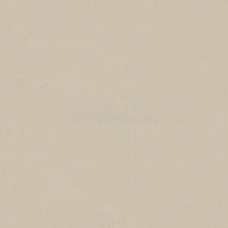 Naturalna beżowa rzemienna tekstura Bezszwowy kwadratowy tło, płytka zdjęcia royalty free
