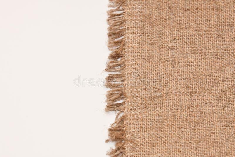 Naturalna bieliźniana tekstura dla tła zdjęcie royalty free
