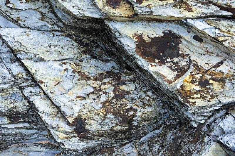 Naturalna kamienna tekstura, skała wzór zdjęcie stock