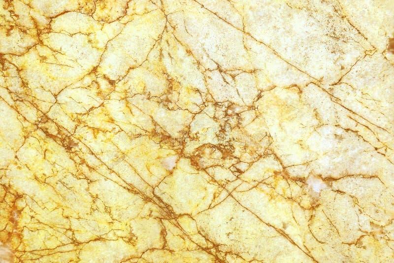 naturalna koloru żółtego marmuru tekstura dla tła i projekta obraz royalty free