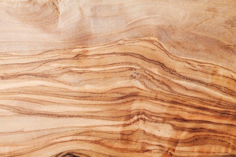 Naturalna oliwna drewniana tekstura dla tła lub tapety zdjęcia stock