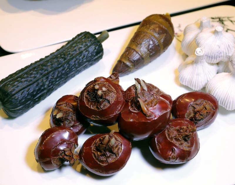 Naturalna owoc i warzywo rzeźba, adobe rgb zdjęcie stock