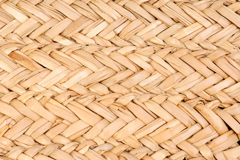 Naturalna słomiana tekstura zdjęcie stock