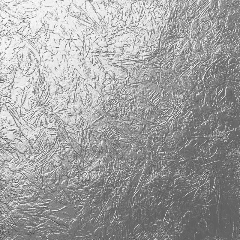 Naturalna Srebna metal tekstura fotografia stock