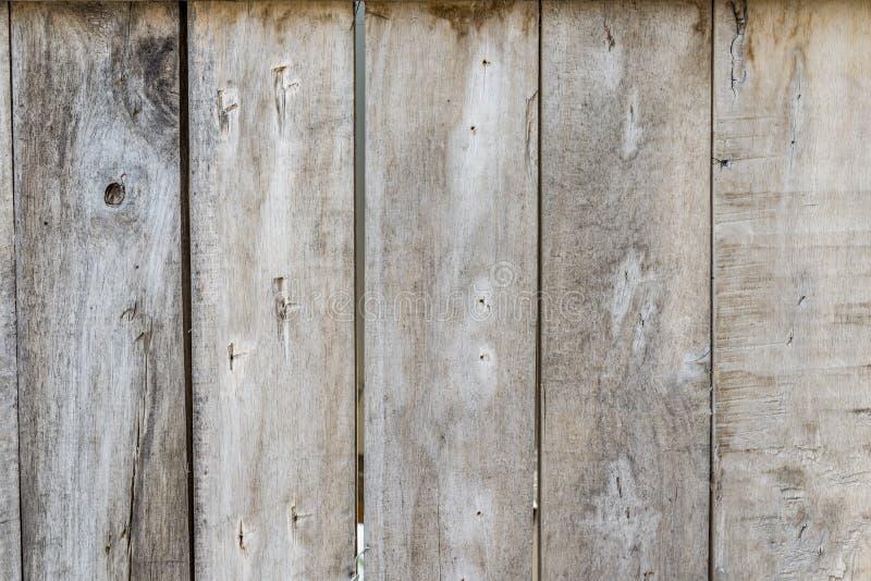 Naturalna stara drewno ściana bez malujący fotografia royalty free
