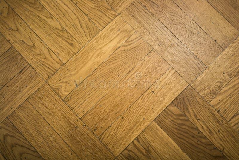 Naturalna struktura drewno Widok floorboard zakończenie fotografia stock