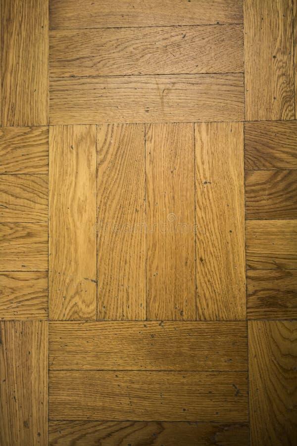 Naturalna struktura drewno Widok floorboard zakończenie zdjęcie royalty free