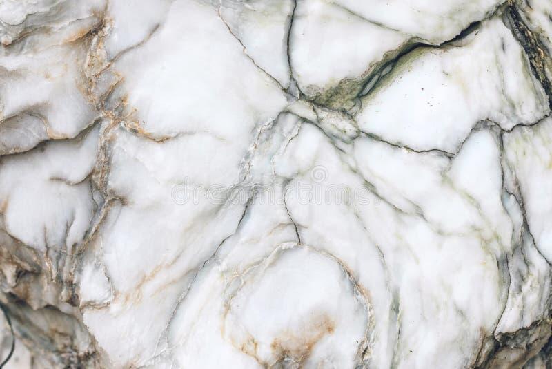 Naturalna surowa marmurowa tekstura Marmurowy tapetowy tło Biały brąz i siwieje kamienną teksturę dla projekta wzoru grafiki zdjęcie royalty free