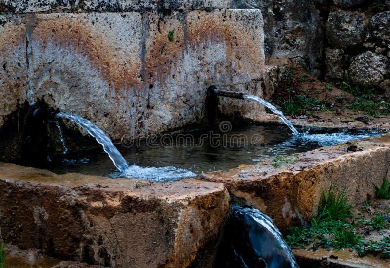 Naturalna synklina w Hita, Hiszpania fotografia stock