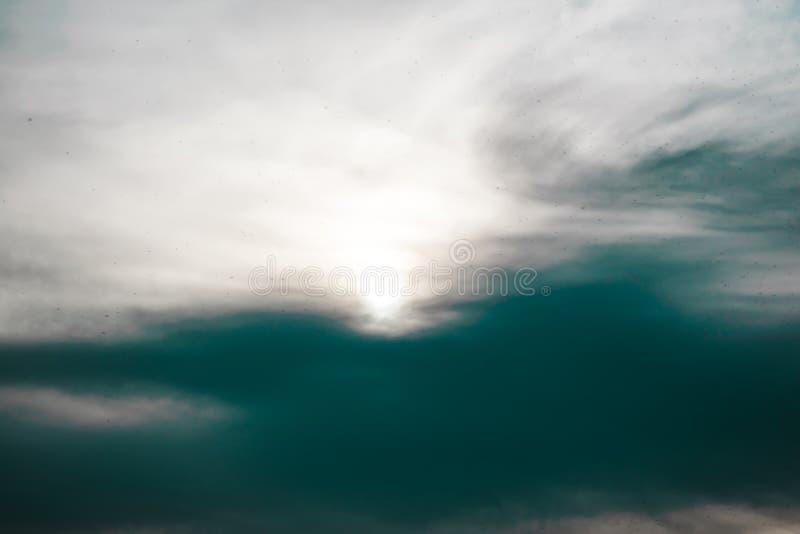 Naturalna tła, naturalnej, jaskrawej i bogatej tekstura, niebo, chmury Grże pogodę obraz stock