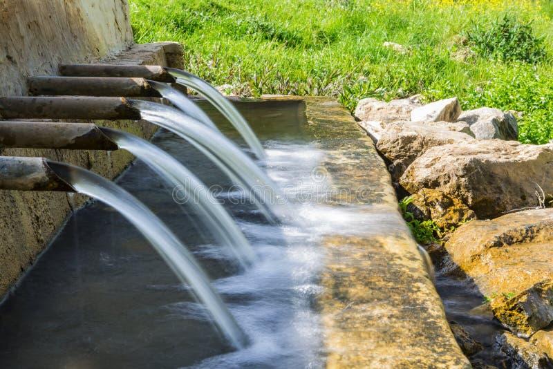Naturalna Wodna fontanna zdjęcia royalty free