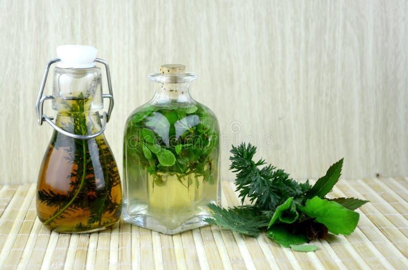 Naturalna ziołowa tinctures medycyna zdjęcia stock