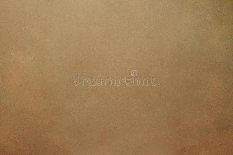 Naturalnego beżowego rzemiennego tła tekstury stary podławy rocznik obrazy royalty free