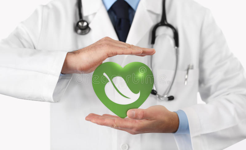 Naturalnej medycyny medyczny pojęcie obrazy royalty free