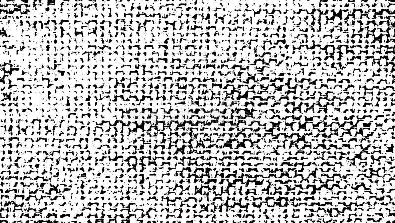 Naturalnej tkaniny tekstura, tekstura z bliska grunge, tapeta naturalny wzór pościel, bawełniana tkanina ilustracja ilustracji