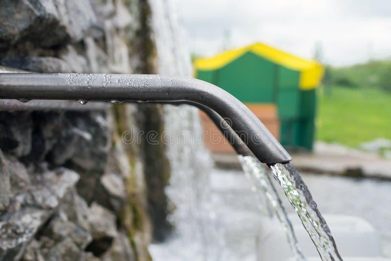 Naturalny źródło świeża woda obraz stock