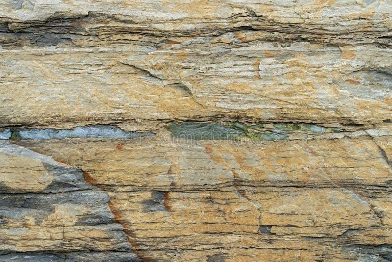Naturalny backgound Tekstura slatestone z marmurowymi warstwami zdjęcie stock