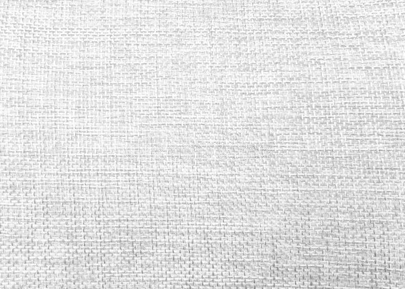 Naturalny bieliźniany tło Tkaniny tekstura robić od burlap materiału obrazy stock