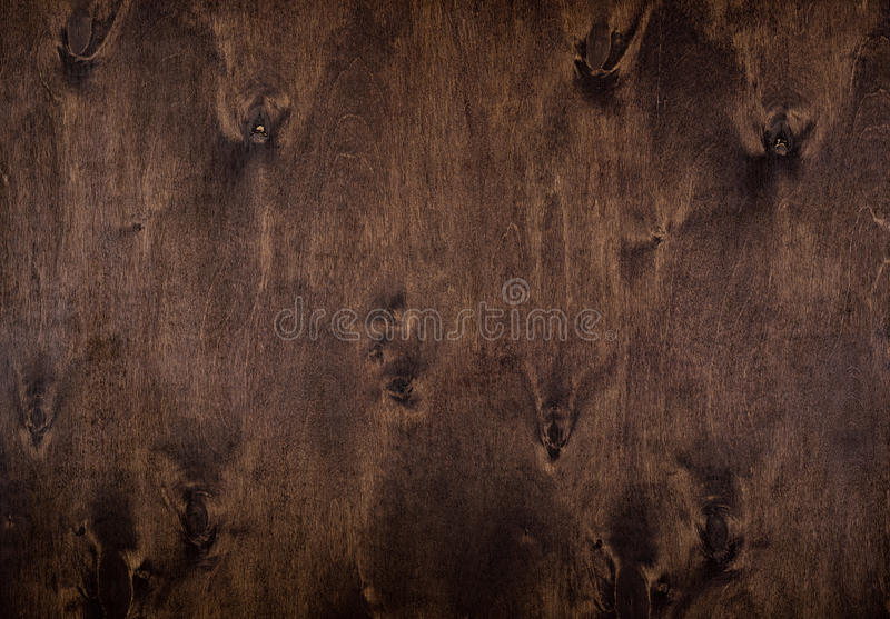 Naturalny ciemny drewniany tło obraz stock