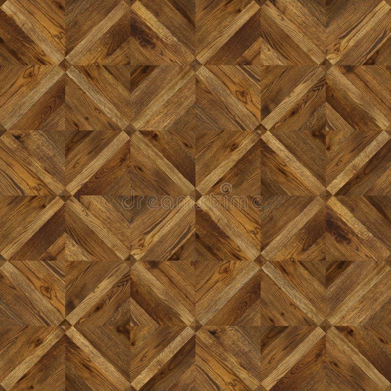 Naturalny drewniany tło, grunge parkietowy posadzkowy projekt bezszwowy obrazy stock