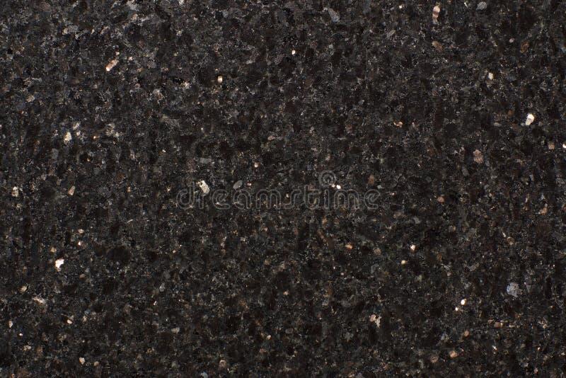 Naturalny kamień gwiazdy galaktyki czerni dodatek, czarny granit, błyszczące cząsteczki zdjęcia royalty free