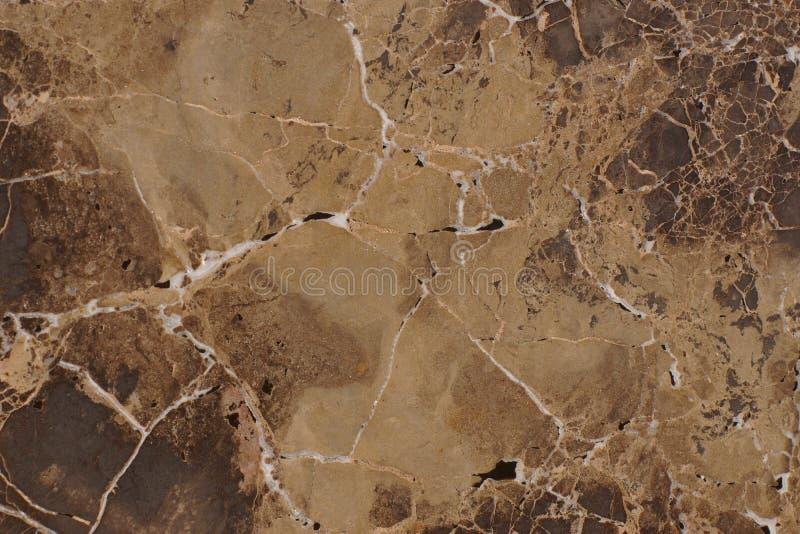 Naturalny kamienia marmuru brązu kolor z ciekawym wzorem, nazwany Emperador światło fotografia stock