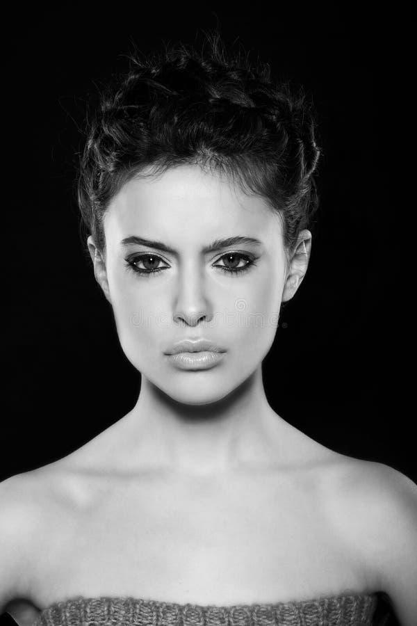 Naturalny Makeup Obraz Royalty Free