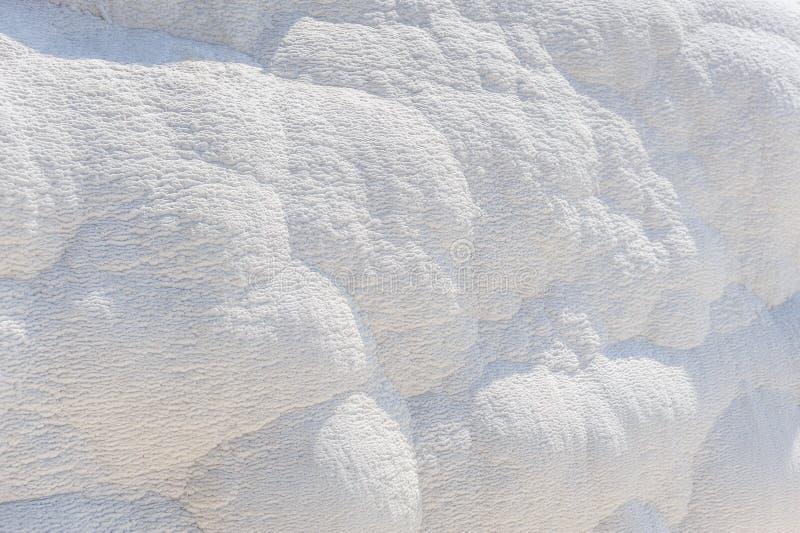 Naturalny naciekowy tło, Pamukkale, Turcja zdjęcia stock