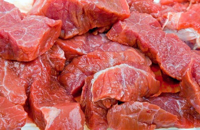naturalny naturalny tła mięso zamknięty świeży zdjęcie royalty free