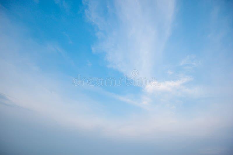 Naturalny niebieskie niebo fotografia royalty free