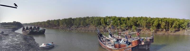 Naturalny piękno Bangladesh fotografia royalty free