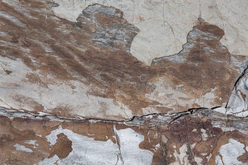 Naturalny rockowy tło z abstrakta wzorem rysującym z natury zdjęcie stock