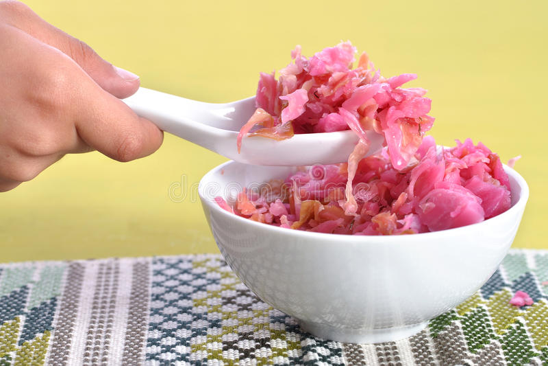 Naturalny sauerkraut zdjęcia stock