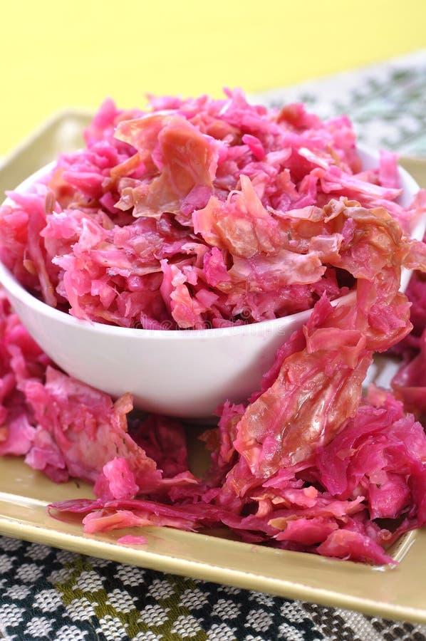 Naturalny sauerkraut zdjęcie royalty free