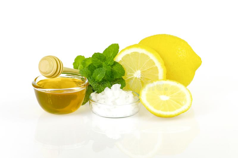 Naturalny skóry skincare i cleanser przepis obrazy stock