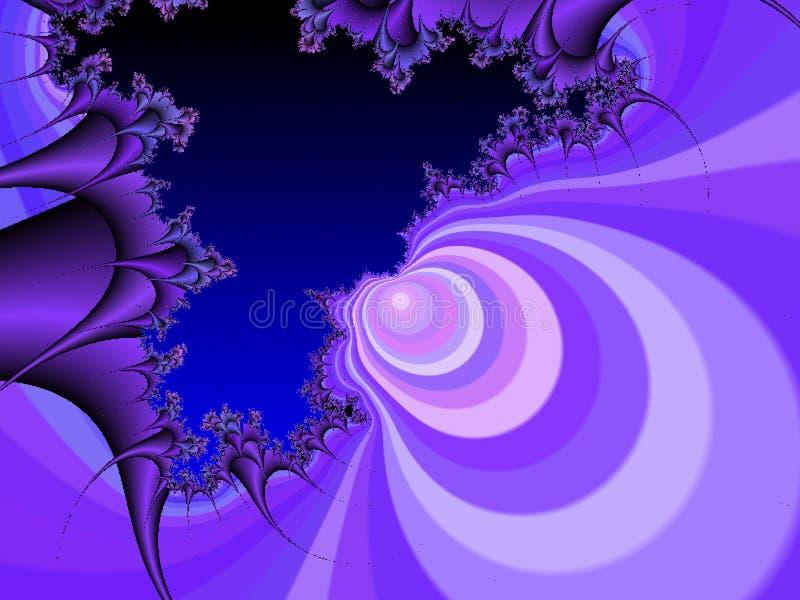Naturalny t?o Tworzący w 3D programach royalty ilustracja