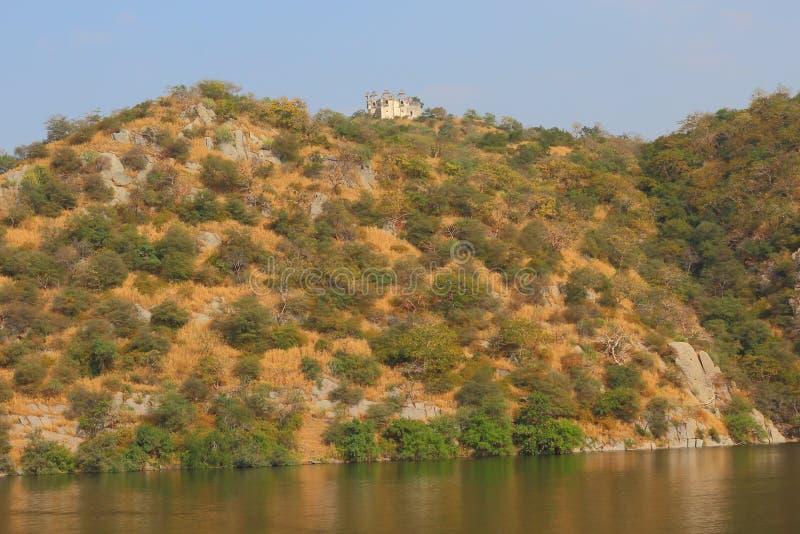Naturalny widok jezioro obrazy stock