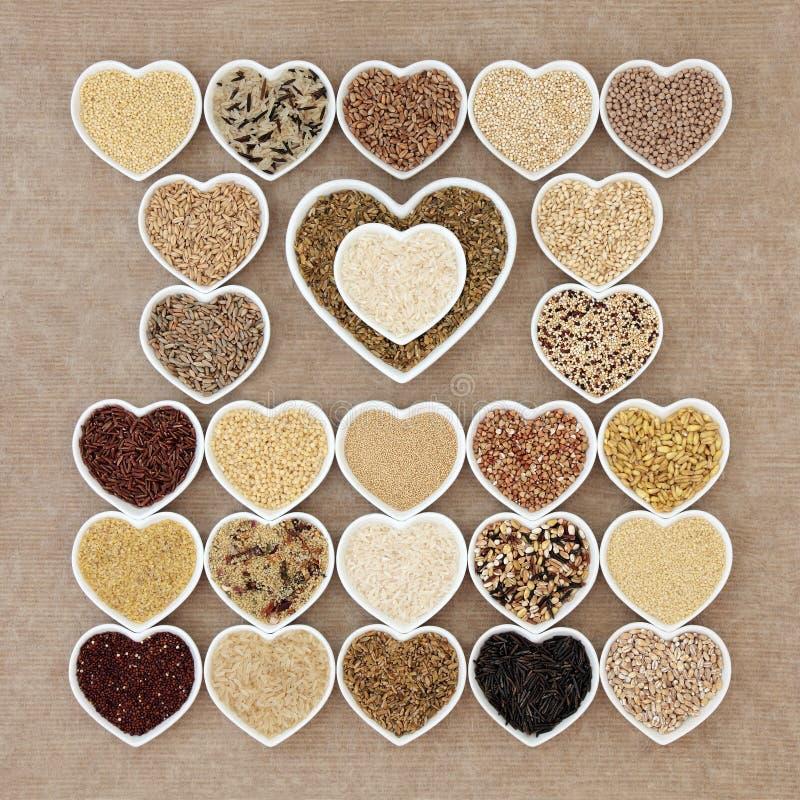 Naturalny Zbożowy zdrowia jedzenie zdjęcie royalty free