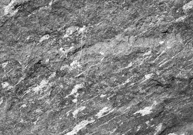 Naturalny zmrok - szara granitu kamienia tekstura fotografia stock