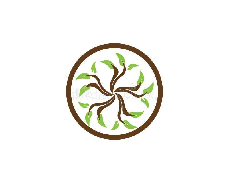 Naturbetriebsikonen-Vektorillustration lizenzfreie abbildung