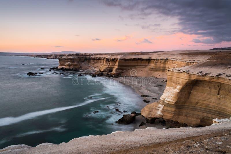 Naturdenkmal 'La Portada', Antofagasta (Chile) stockfotos