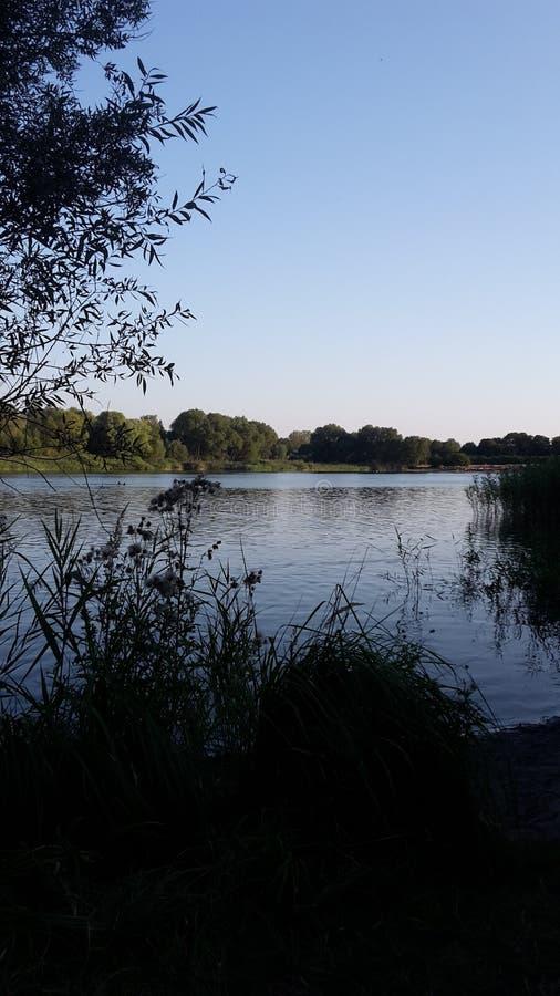 Nature湖 免版税库存照片