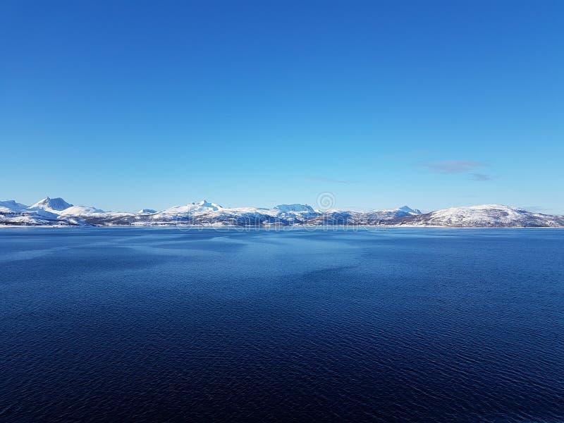 Nature étonnante de la Norvège photos libres de droits