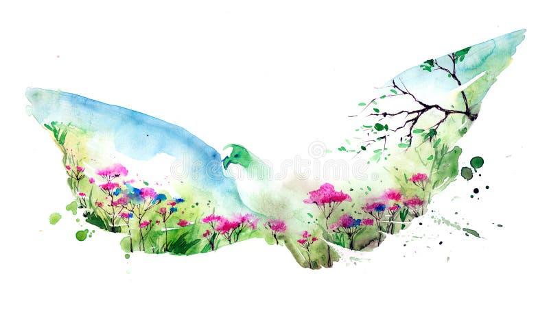 nature illustration libre de droits